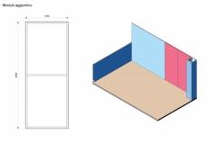 Progetto ampliamento Stand Textile Frame