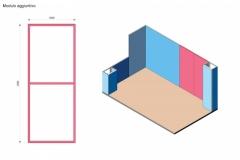 Progettazione integrazione Stand Textile Frame