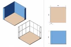 Progetto Stand 3x3m