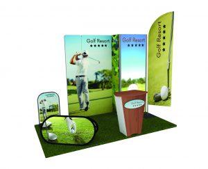 Stand espositivo golf resort