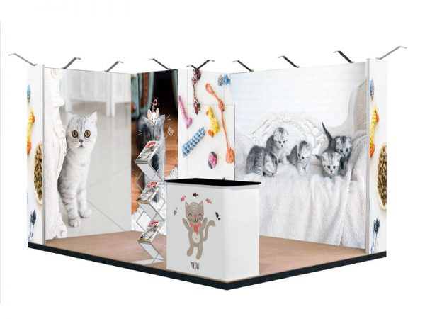 textile frame stand malibu