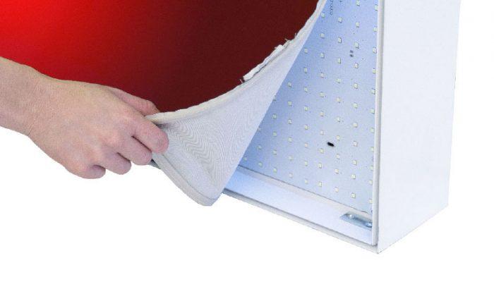 dettaglio textile frame dinamico