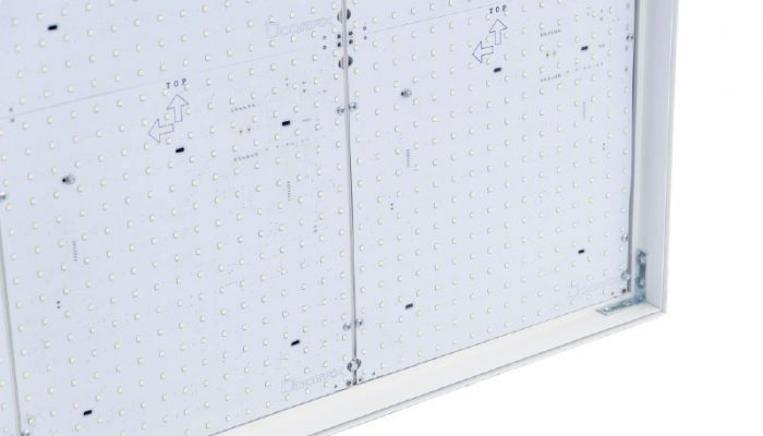 Pannello led per textile frame dinamico